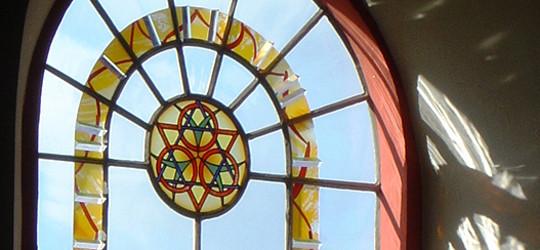 Kirchenfenster Bleidenstadt